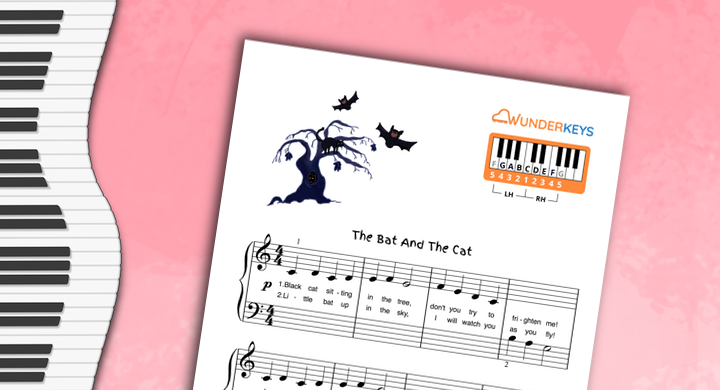 A Halloween Music Pack For Early Primer Piano Students