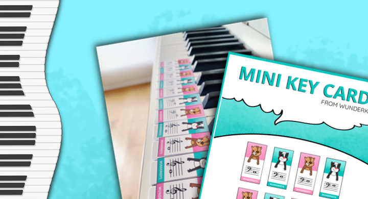 Printable Primer Flashcards To Connect Note Reading And Keyboard Awareness