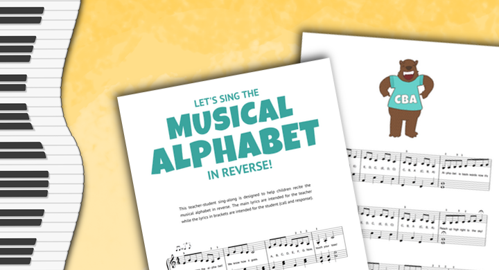 Begin Every Piano Lesson With This Song And Squash Note-Reading Struggles