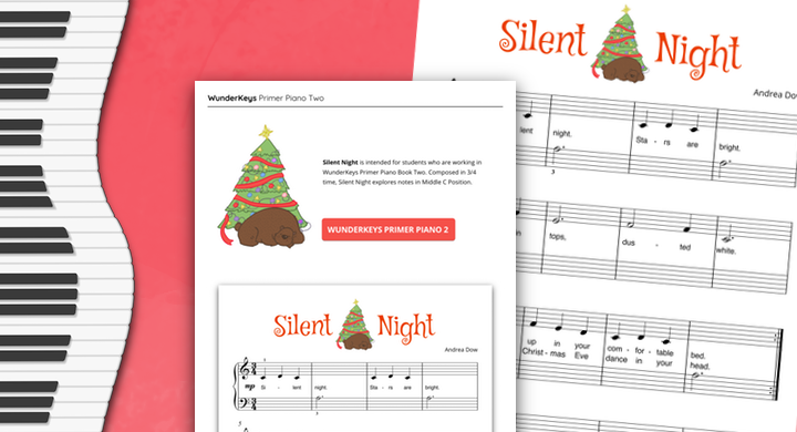 The WunderKeys Christmas Music Extravaganza Continues With More Primer Piano Pieces