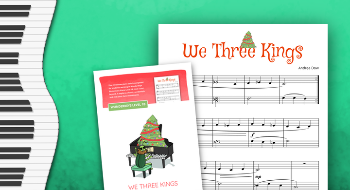 More Elementary Christmas Piano Music