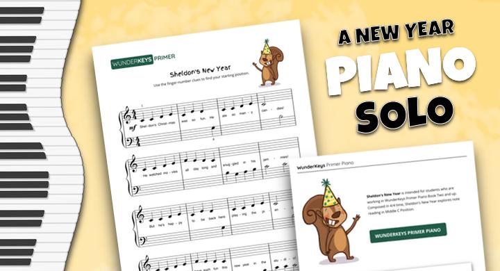 New Year Piano Solo