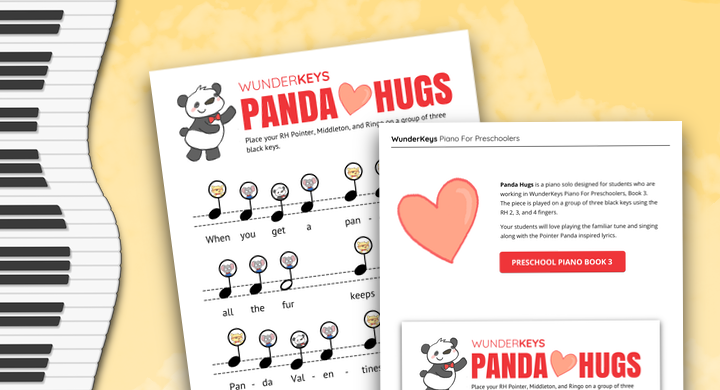 A Valentine's Day Piano Solo For Your Preschool Students