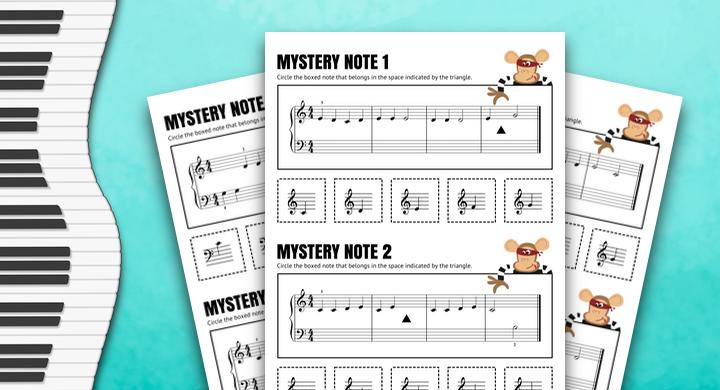 Mystery Note Ear Training