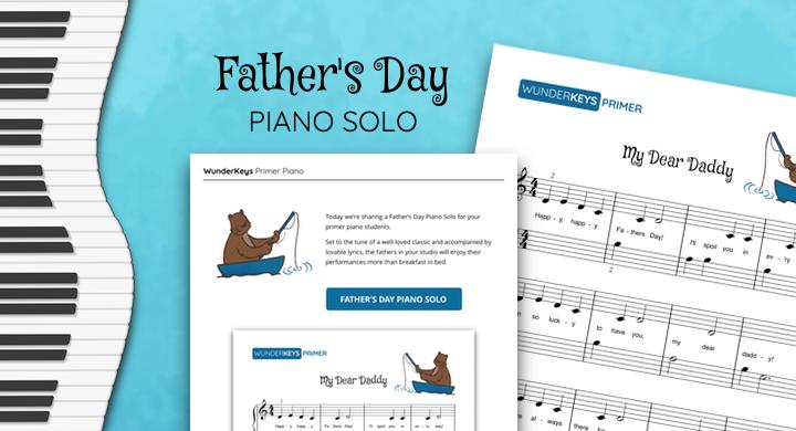 Father's Day Piano Solo